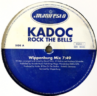 "Kadoc ‎- Rock The Bells (12"") (G+/NM)"